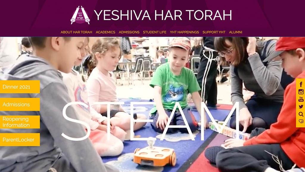 website for Yeshiva Har Torah