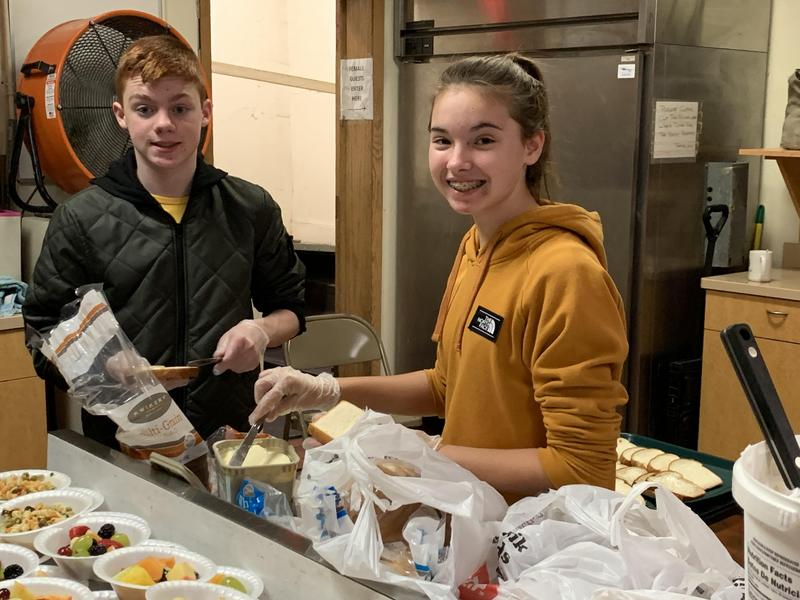 Students Serve Homeless in Madison Thumbnail Image