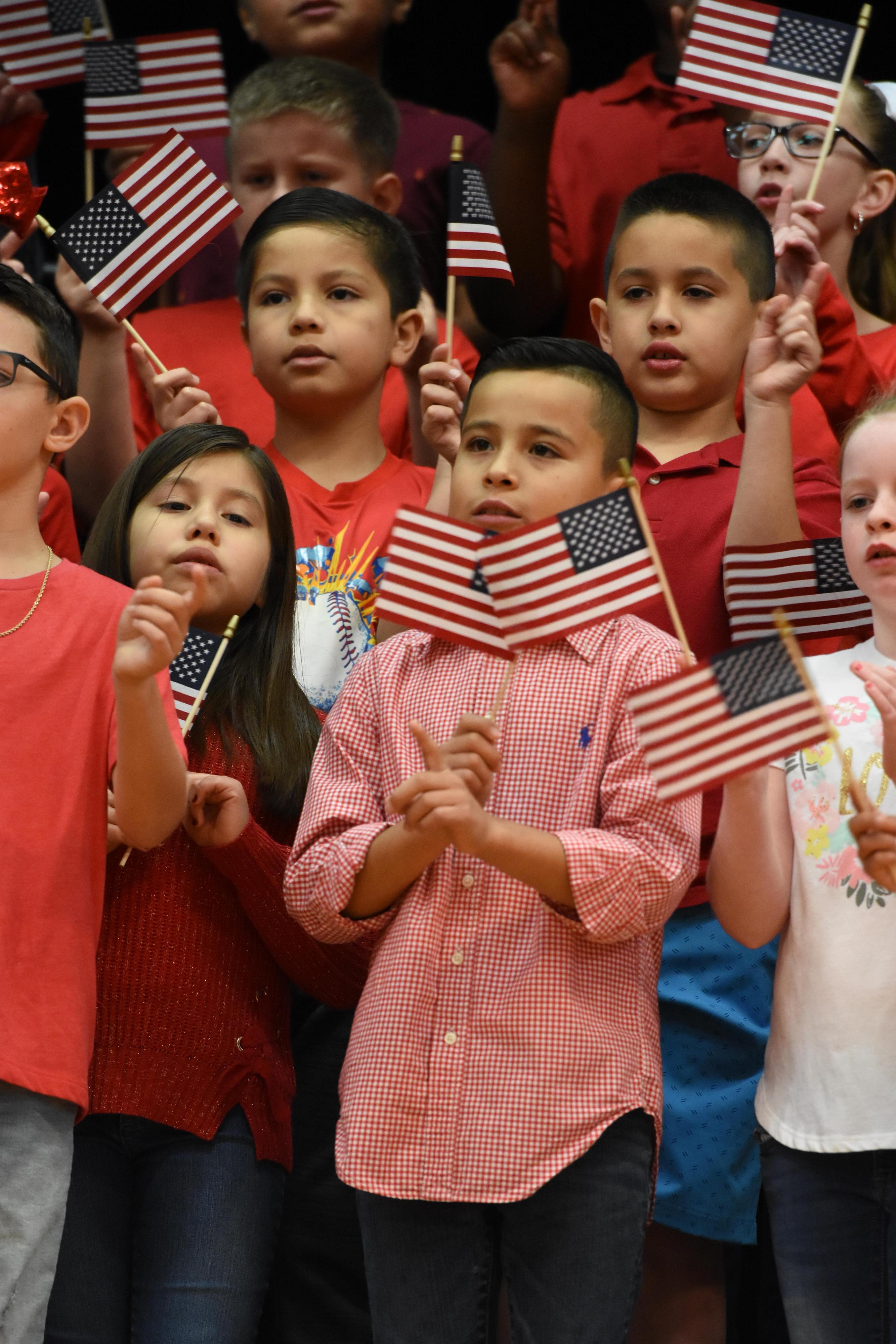 Deer Park Elementary celebrates Veterans Day