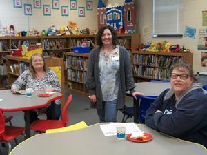 Parents and Mrs. Fleming at