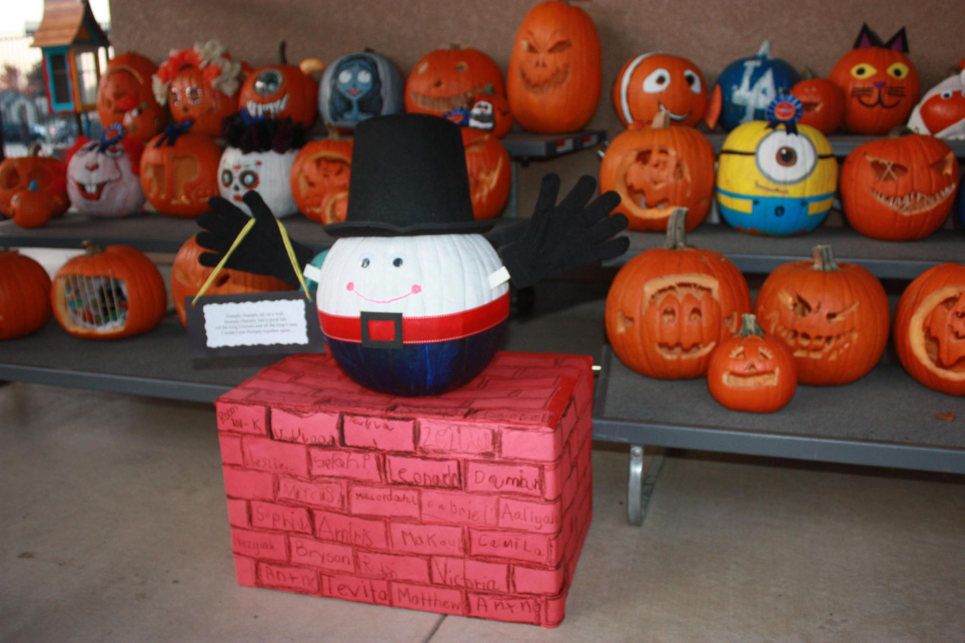 Pumpkin Decorating contest for the Harvest Festival