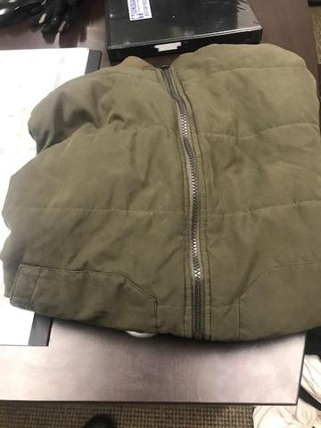 Green Jacket found 4/12/19