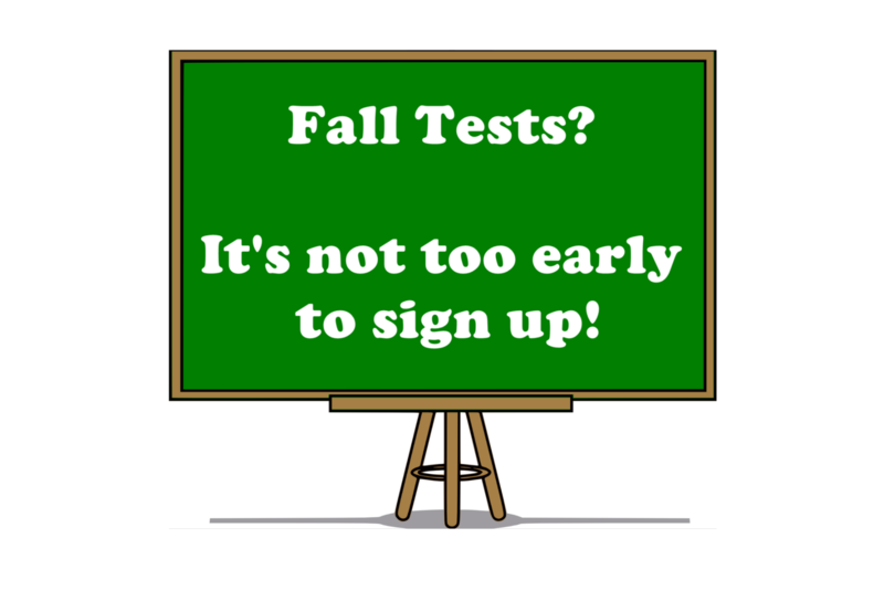 Credit by Demonstrated Mastery Fall Testing Thumbnail Image