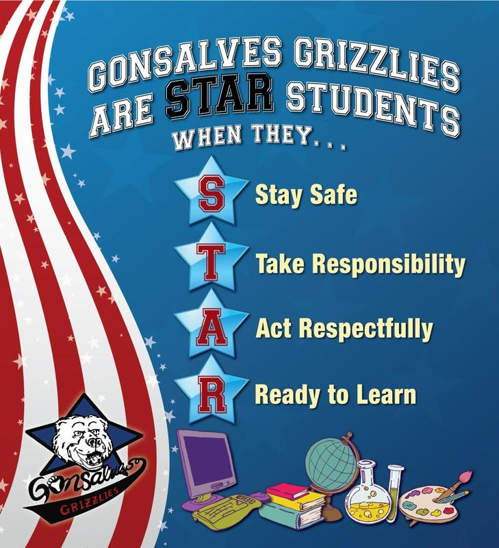 STAR Behaviors for Gonsalves Grizzlies