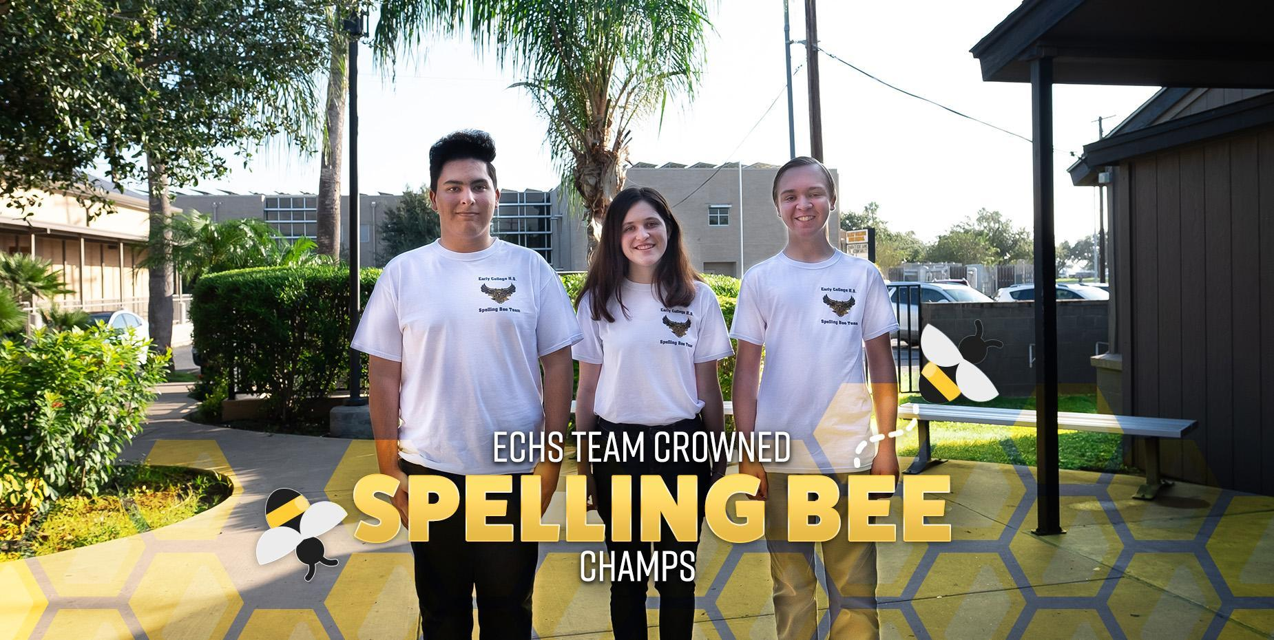 ECHS team crowned spelling bee champs