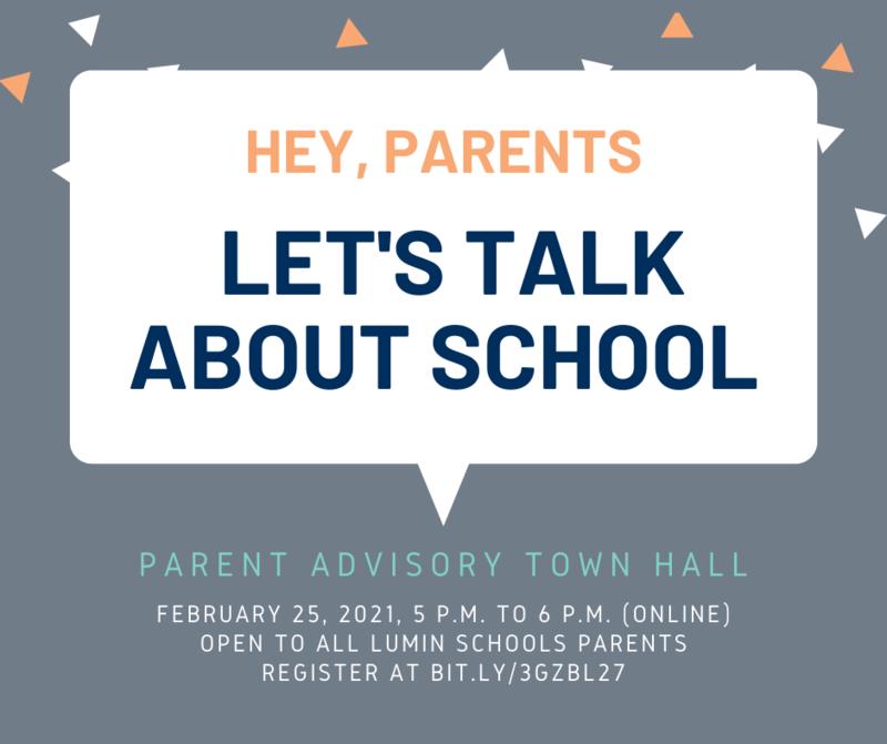 Parent Town Hall Meeting