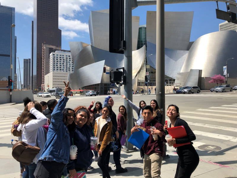 Kennedy Choir Practices at Disney Concert Hall Featured Photo