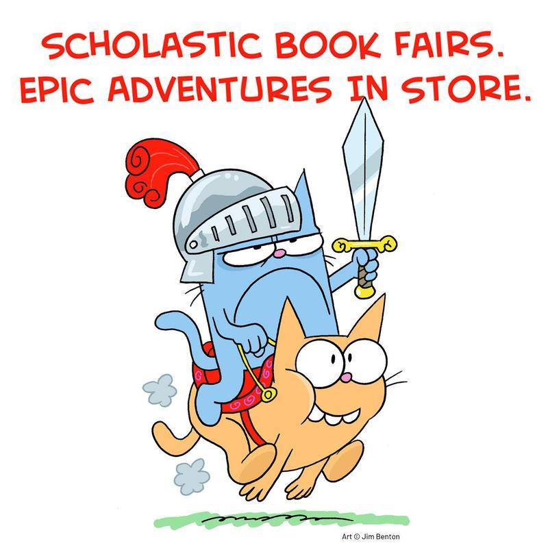 Scholastic Spring Book Fair Featured Photo