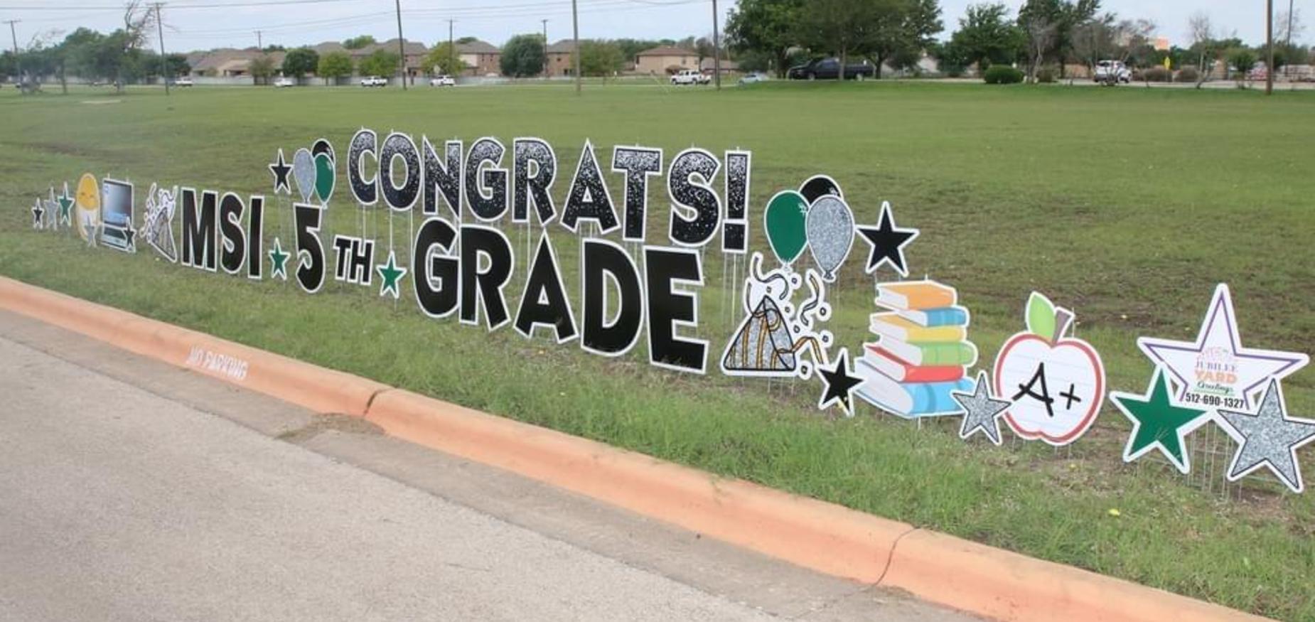 Congrats MSI 5th Grade
