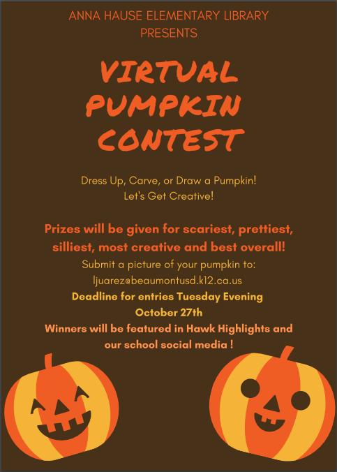 virtual pumpkin contest