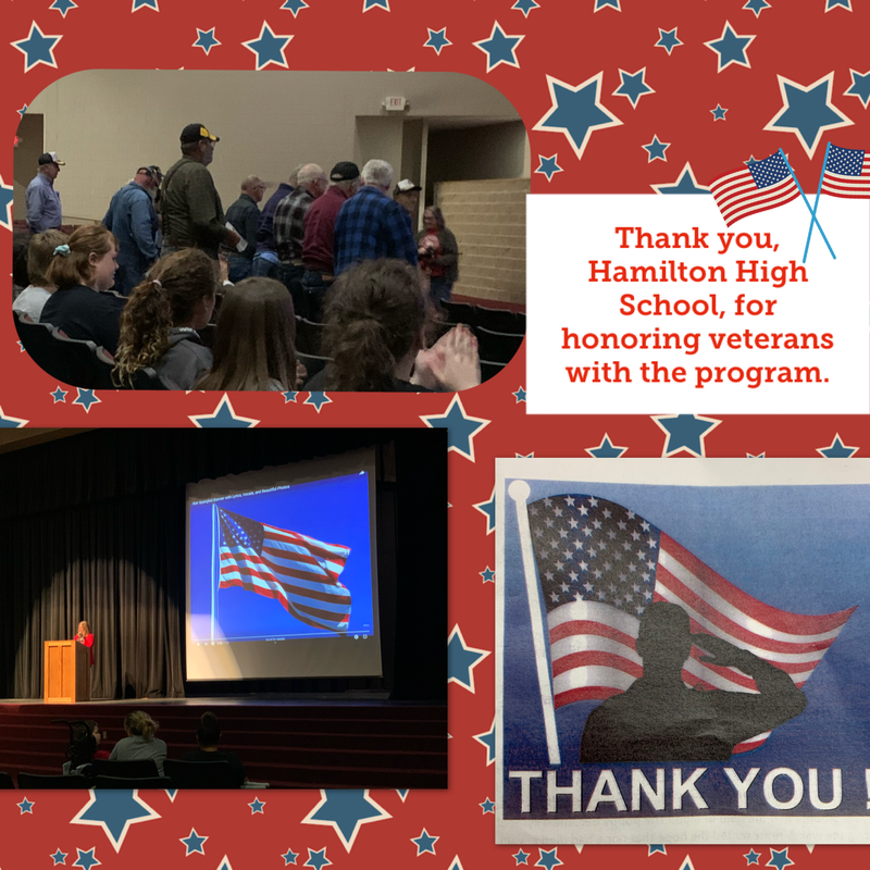HJH Attends HHS Veteran's Day Program Thumbnail Image