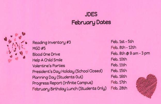ES dates