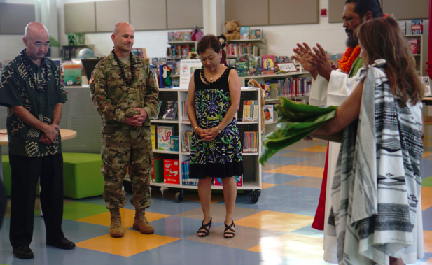 blessing in library