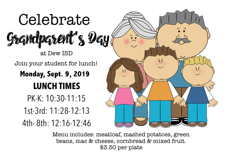 Grandparent's Day Lunch Monday, Sept 9th Featured Photo