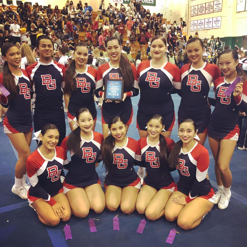 Varsity Cheer has won Regionals!!! Featured Photo