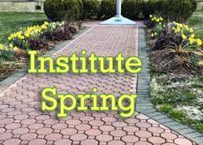 Springtime at the Institute