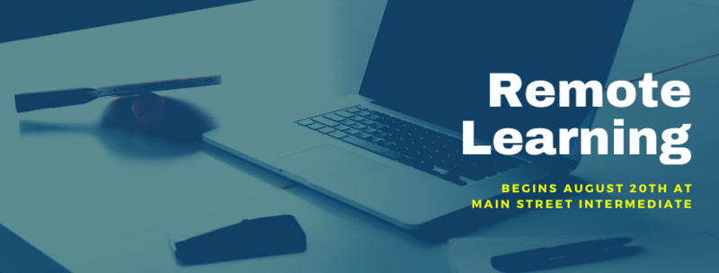 Remote Learning Begins August 20th! Read Full Story For More Information and To Access Technology Request Form Featured Photo
