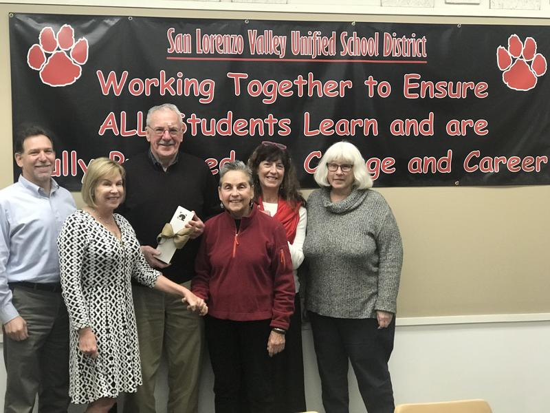 Picture of SLV Board with Superintendent