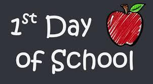 First Day of School!  Grades 1-5 Monday 9/14/2020 Featured Photo