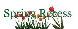 text 'spring recess'