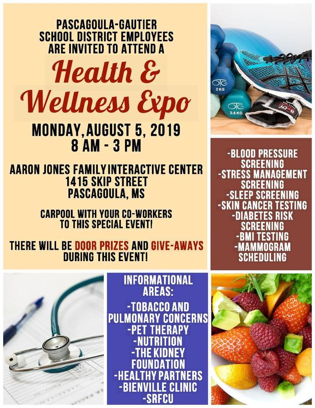 We hope you will come by the Health and Wellness Expo on Monday, August 5th!  Park across the street at the CCTI and use the main gym doors (located on Skip) to enter the expo.