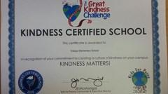 Yokayo kindness certificate