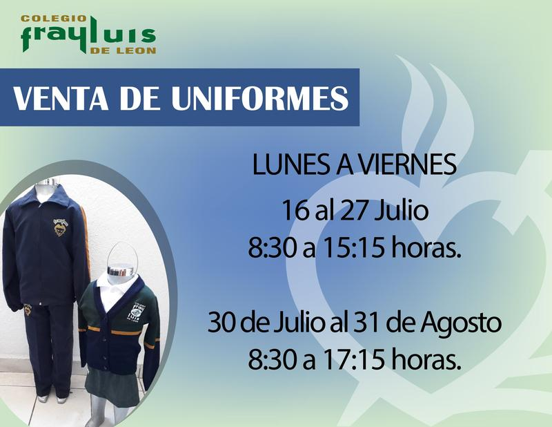 Venta de Uniformes Featured Photo