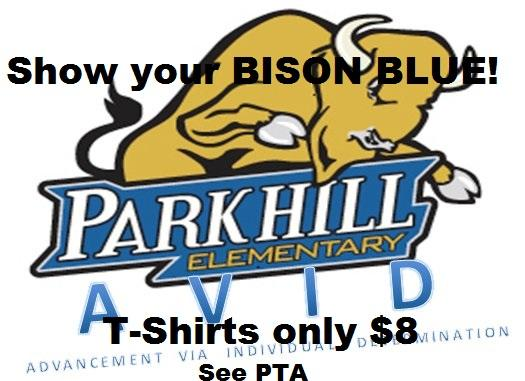 Get your bison t-shirts to show your BISON BLUE pride!