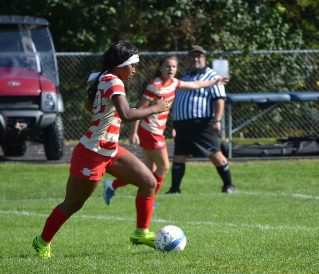 Varsity Girls Soccer vs Burrell - 092317