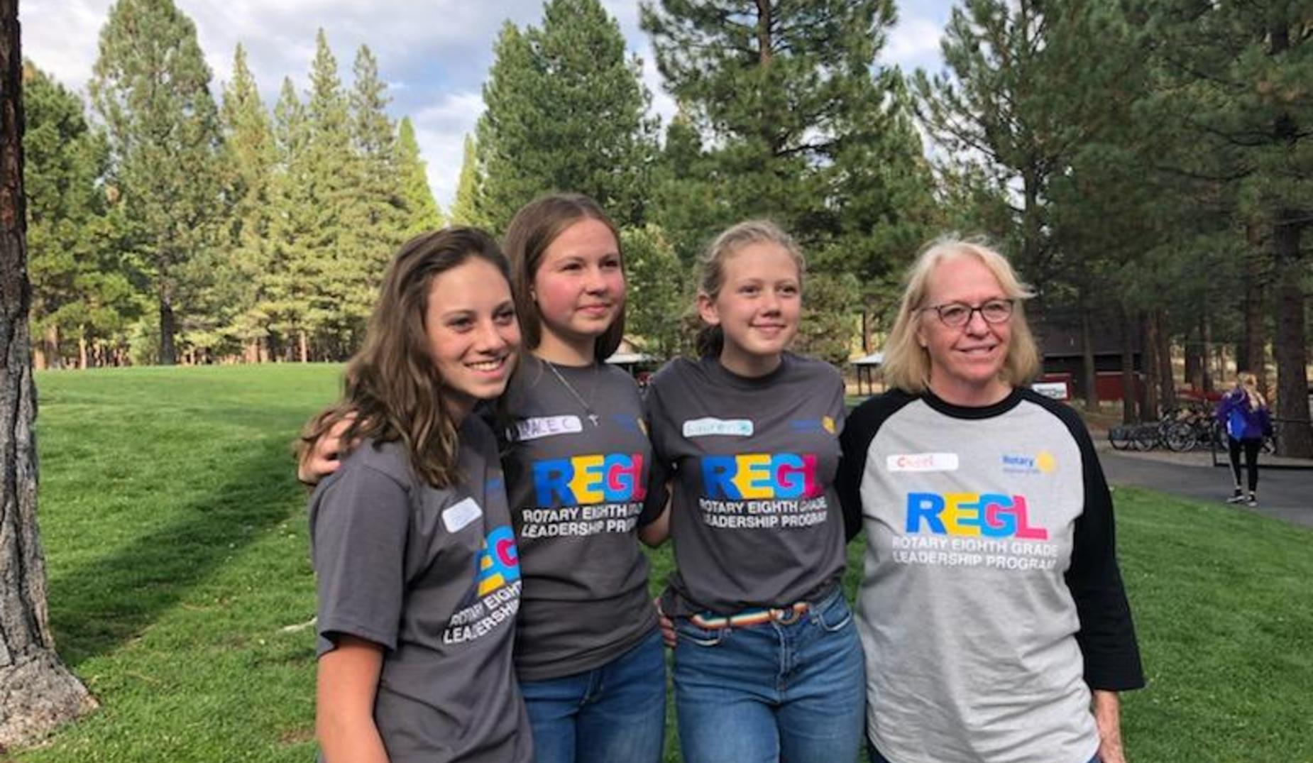 8th grade Rotary REGL Camp
