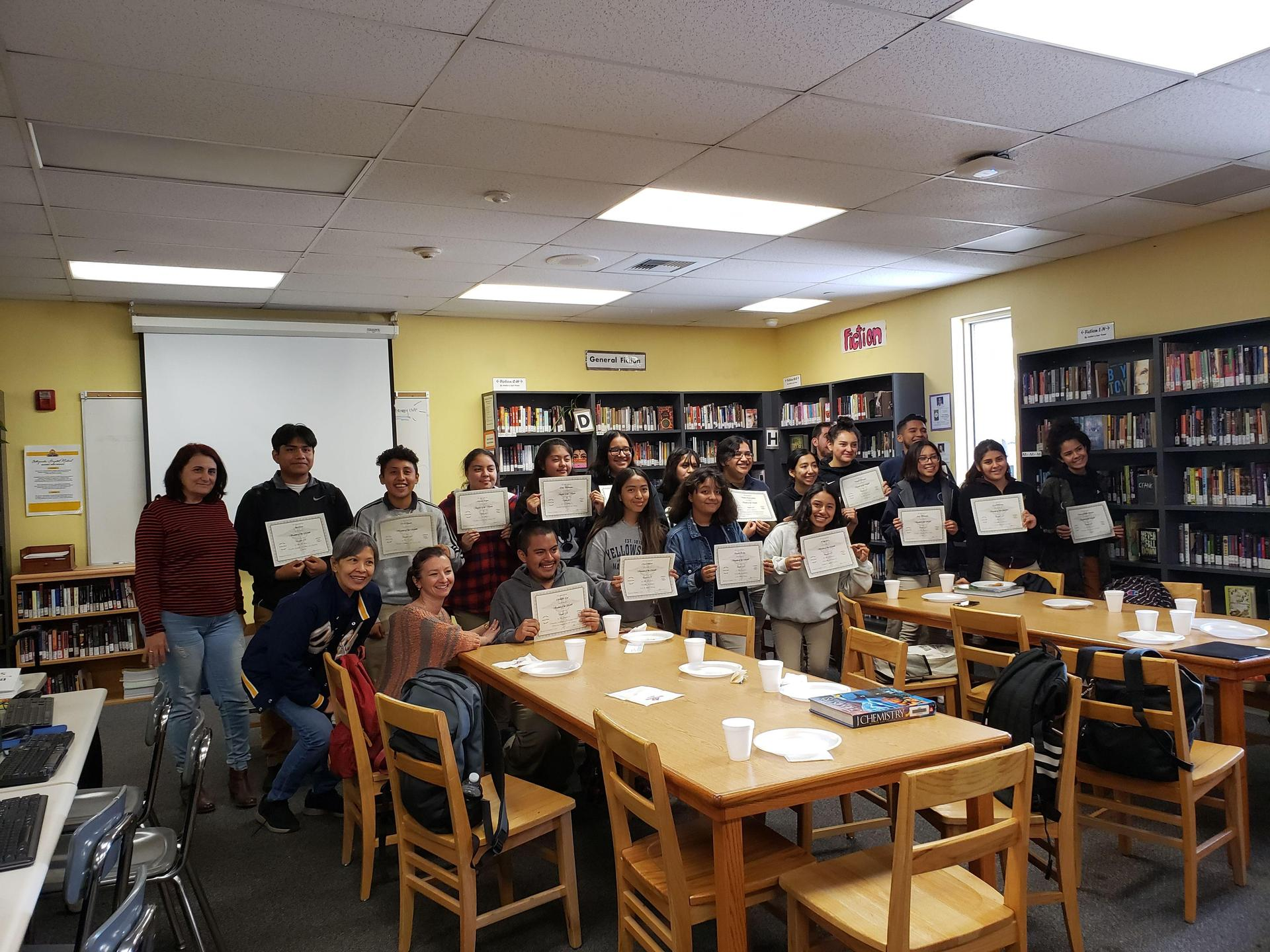 Students of the Month Nov