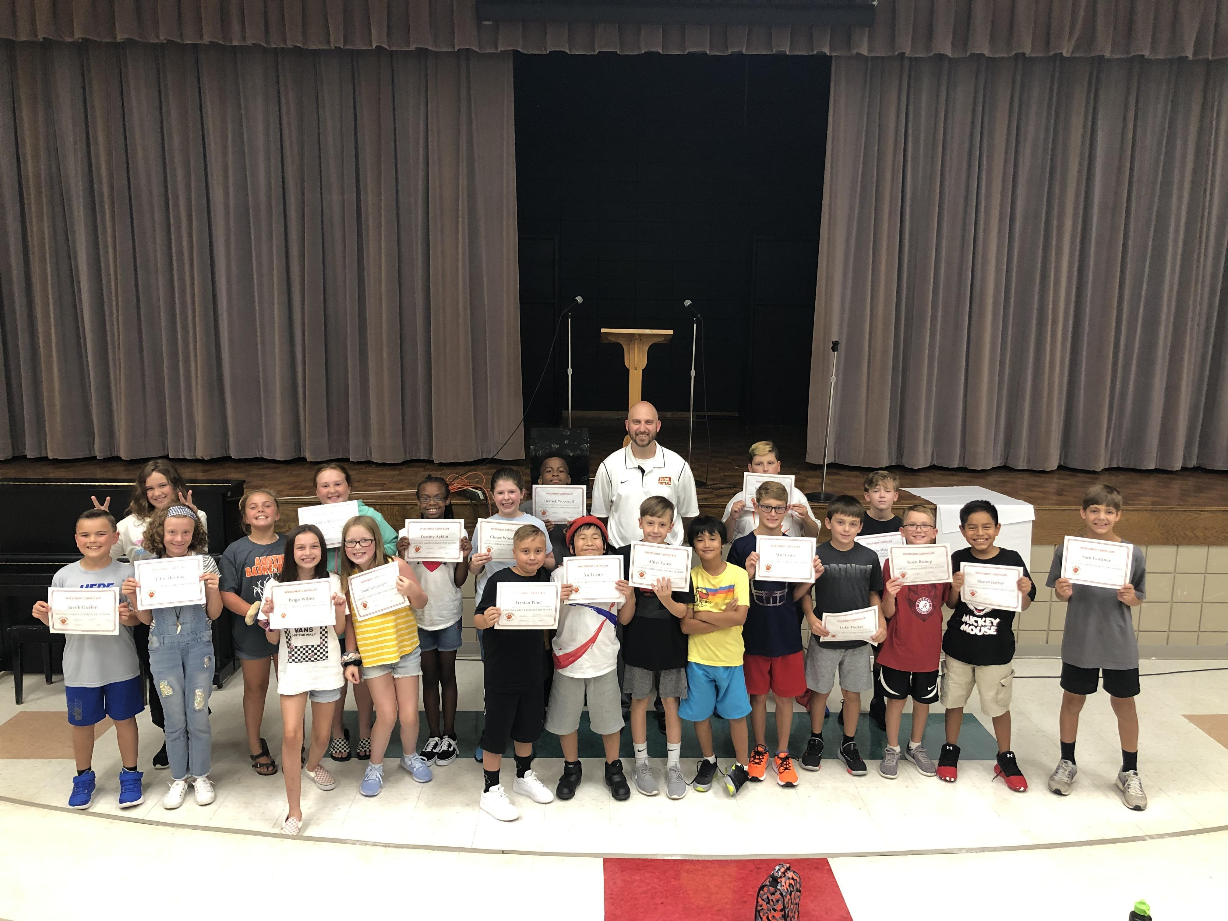 5th Grade Recognition Image