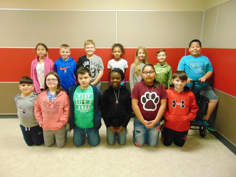 3rd Grade January Student of the Month Featured Photo