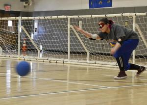 Goalball game