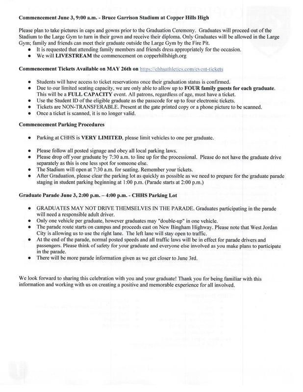 Graduation Letter 2