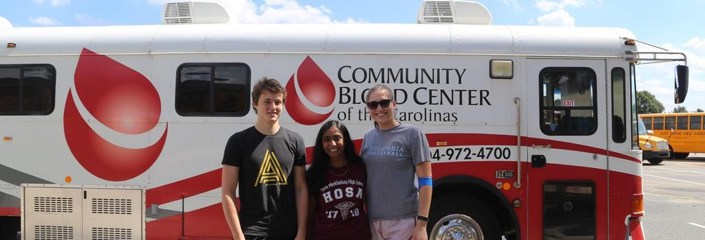 NMHS HOSA Community Blood Drive event
