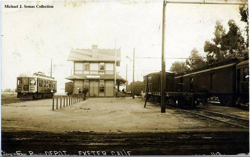 historical exeter- santa fe depot