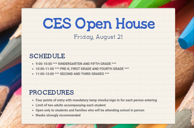 Open House Date and Times are Set! Featured Photo