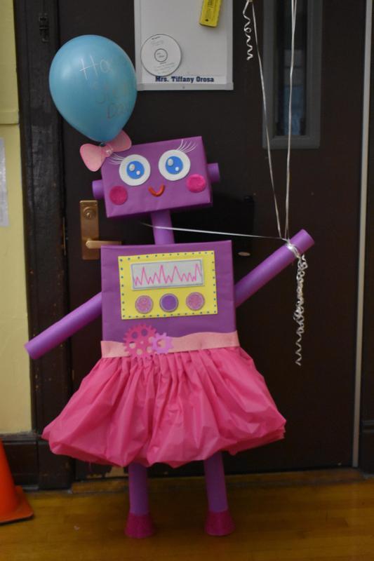 STEAM Night Robot Girl
