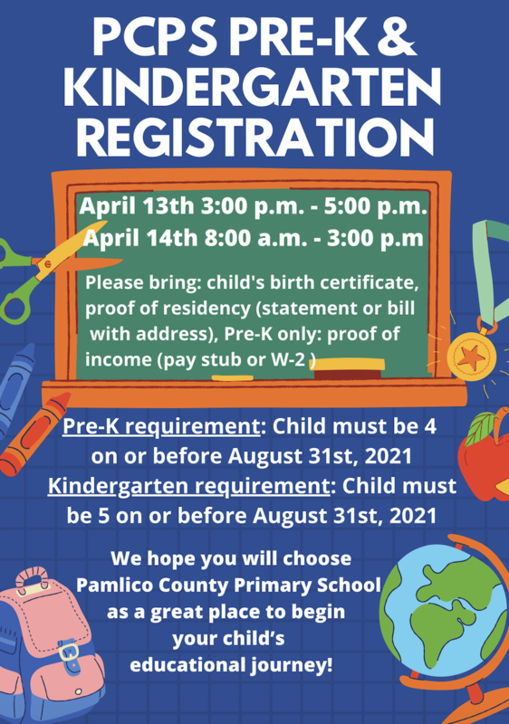 What is needed for Pre-K and Kindergarten Registration