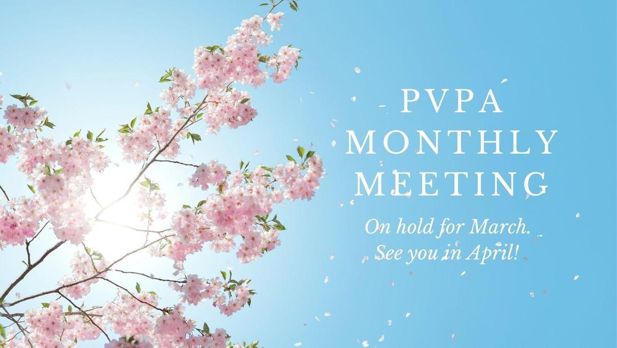PVPA Meeting Postponed