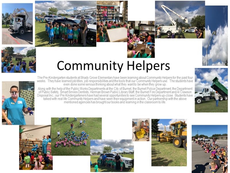 Pre-Kindergarten Students learn about Community Helpers! Thumbnail Image