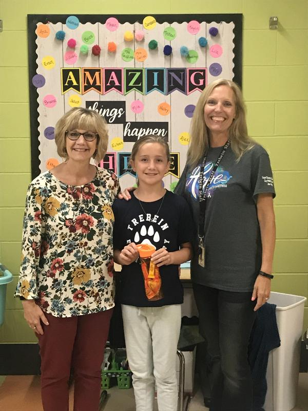 Trebein's 2019 October Shine Award Recipient Featured Photo