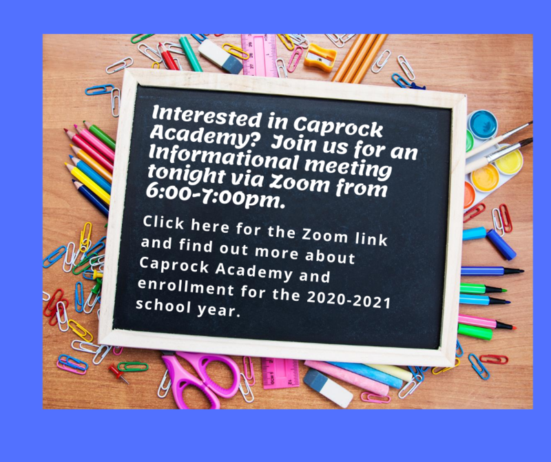 Informational Meeting information
