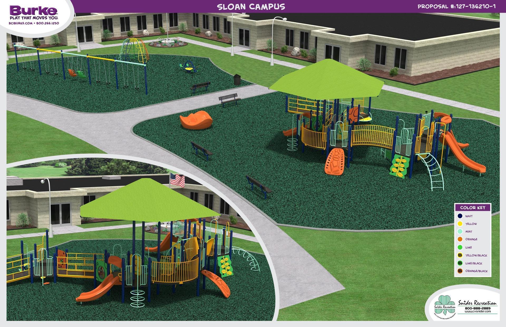 Playground Rendering (Primary School)