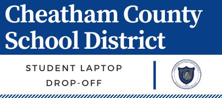 Student laptop drop-off schedule
