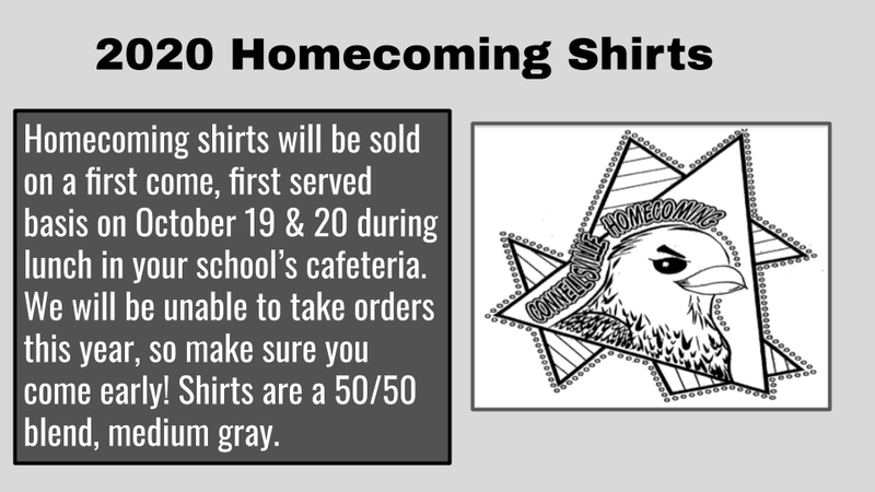 Homecoming Shirts 2020 Featured Photo