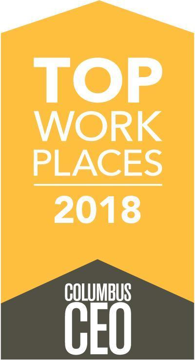 2018 Top Work Places Award