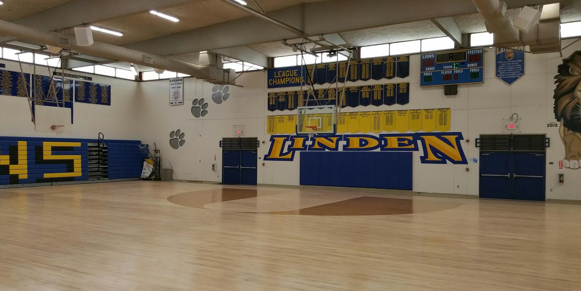 Linden High School West Gym