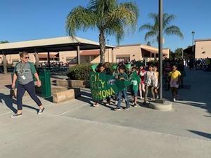 Students represent Cal Poly Pomona